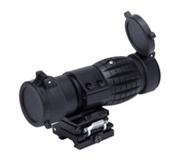 PRO For Airsoft Tactical 3x Magnifier Scope With Flip To Side 20mm Rail Mount Scopes