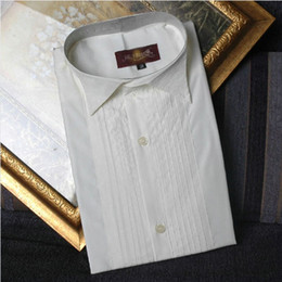 Wholesale Groom Shirts to matching the Bridegroom suit New mens wedding dress suit Bridal tuxed