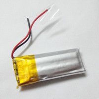 Wholesale 3 V mAh lipo li polymer Bluetooth Headset Battery E501230 C18