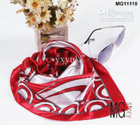 Wholesale 20pcs SALE High grade small geometric print silk scarf mix order