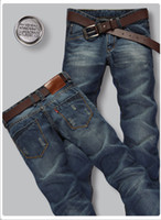 Wholesale Mens designer cotton denim jeans trousers Hot sale Y