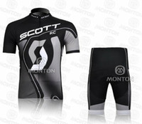 Wholesale High Quality New SCOTT Cycling Wear Bicycle Jersey and short Sportwear kits