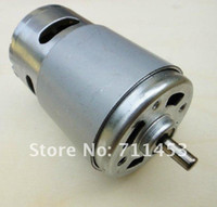 Wholesale 775 High Torque High Speed V rpm Micro DC Motor for Hair Dryer Fan Electric power tools DIY parts