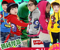 Wholesale Baby Kids Clothing Children s dinosaur Hoodies Sweatshirts boy girl s outerwear baby Hooded sweater