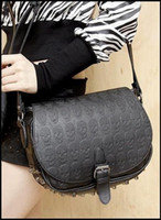 Wholesale 2012 handbags Shoulder Bags for women Retro Rivet design luxurious Skull Heads fashion Hot selling
