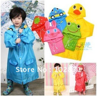 Wholesale Mix color LINDA Animal children raincoat children rainwear prices