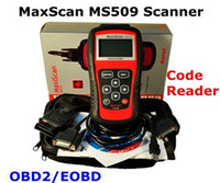 Wholesale Automotive Diagnostic tool MaxScan MS509 OBD2 EOBD Car Diagnostic Code Reader Scanner