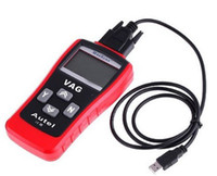 Wholesale MaxScan VAG405 LCD car auto Code Reader OBD2 EOBD CAN BUS VW Audi diagnostic tool