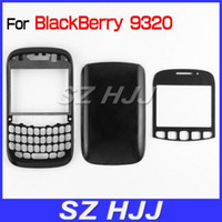 Wholesale For Blackberry Housing Cover Faceplate Front with lens Battery Door Cover For Curve