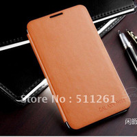 n7000 case - New arrival PU Leather Wallet Flip Holster Back Cover For Samsung Galaxy Note i9220 N7000 Case