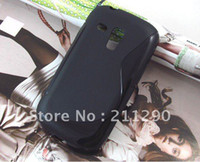 Silicone For Samsung For Christmas S Line Case for Samsung Galaxy SIII Mini i8190, TPU Gel Case for Samsung Galaxy SIII Mini i8190 20pc