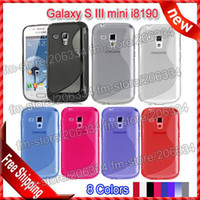 Silicone For Samsung For Christmas Galaxy S3 mini i8190 TPU case ,Wholesale S line Soft TPU Gel Case For Samsung Galaxy S III mini i819