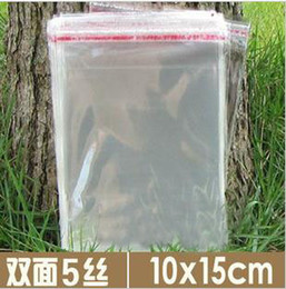200x disposable plastic bags cello bag resealable transparent for food christmas gifts packaging