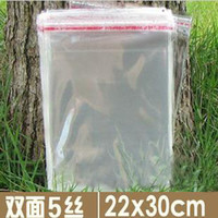 Aluminum aluminum clad stainless steel - 200x clear polyethylene plastic bags cellophane bag reclosable for food clothes gifts retail packing