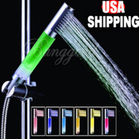 Wholesale christmas gift Colors changing LED Shower jump change power NO battery