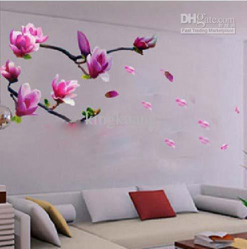 34kb removable wall stickers bedroom living room tv wall art stickers
