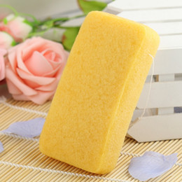 12 pcs lot 4 Colors Rectangle 100% Natural Turmeric Konjac Body Sponge Facial Wash Cleaning Puff