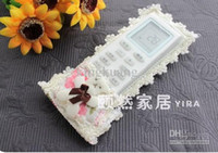 Wholesale TV remote control protective sleeve thicker fabric remote control sets more style
