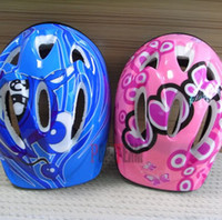 Wholesale Kids Children skating helmets Skateboard Bicycle Bike Cycling Pink