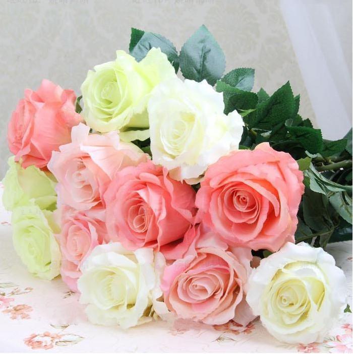 Wholesale Wedding Decorations Bridal Bouquets Flowers Artificial