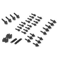 Wholesale Black Spike Fairing Bolts Aluminum For GSXR GSXR1000