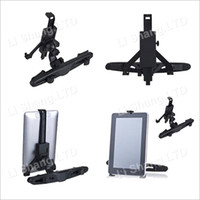 Wholesale 50pcs Universal Rotatable Car Holder Mount Kit Stand for quot quot Tablet PC ipad ipad2 ipad3