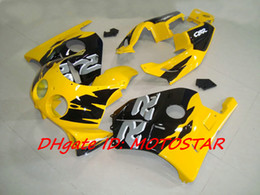 H22 yellow fairings kit For Honda CBR250RR MC22 1991-1998 CBR 250RR CBR250 91 92 93 94 bodywork