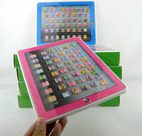 Wholesale ypad Y pad Table Learning Machine English Computer for Kids Children Educational Toys Music Led