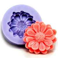 Wholesale Silicone fondant flower shape DIY set cake sugarcraft mold lovely style bakeware
