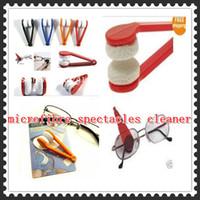 Wholesale Essential Microfibre Glasses Cleaner Microfibre Spectacles Sunglasses Eyeglass Cleaner Clean