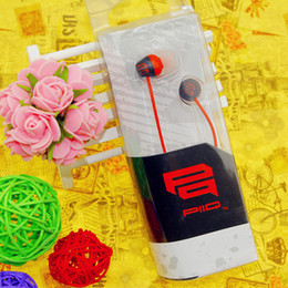 Wholesale best inexpensive Cartoon Shape in ear red Headphones PQ6 Earphones for mp3 player phone