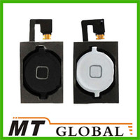 Wholesale For iPhone S Home Button Key With Flex Cable iPhone S Replacement New Arrival Black White Two Color High Quality