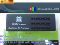 Wholesale HKPost Air Mail retail Dual core RK3066 Android Cortex A9 DDR3 GB RAM GB ROM