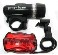 Wholesale Best price newest set LED Front Lamp Bike LED Flash Rear Light suit package
