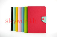 Smart Cover/Screen Cover mini tablet pc - Ultra Slim Candy Leather Case cover Folio stand for ipad mini Tablet Pc
