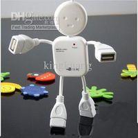 Wholesale USB interface Lovely person shaped port usb hub USB