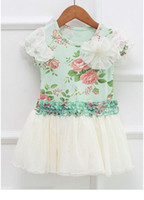 Wholesale New Girl s sleeveless Dress colors children Dress summer children Clothes flower girl wear