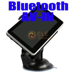 2017 livres vidéo 4,3 pouces navigateur GPS avec bluetooth AV-IN MP3 MP4 vidéo jeux E-book Reader 4G carte de charger de nouveau Ma 3D peu coûteux livres vidéo
