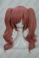other other other Lolita red Hot Selling long curly Cosplay anime characters costume Wig 20 inches 270 gram Free Shipping