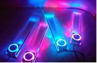 Wholesale 50PCS Latest car decorative lamp type other decorative lamp color Square colorful square Blu ray