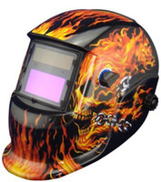 Wholesale Li Battery Solar auto darkening welding helmet weld mask for the MIG MAG CT TSC KR welding machine