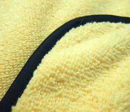 3шт 360gsm 40cmx40cm микрофибры Полировка Полотенце чистки автомобиля плюша высокого качества микрофибры Полировка Пыль Абсорбент Полотенца