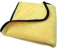 Wholesale 50PC gsm cmx40cm Plush Microfiber Buffing Towel Microfiber car wax Polishing Cloths car cleaning cloths