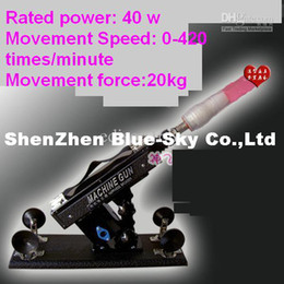 Wholesale SEX TOY golden gun cannon machine masturbation machine for female Movement Speed times minute