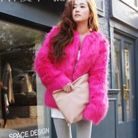 Wholesale Fashion Women s Clothes With Faux Fur Coat Wedding Wraps High Imitation Rabbit Fur Outside Wear