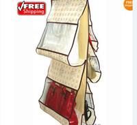 Wholesale Storage Bag Hanging Handbag Home Organizer Women Purses Handbag Closet Drop Shipping Factory Sale