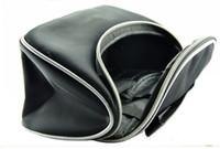 al por mayor bolsas con cremallera de nylon para el comercio minorista-La bolsa al por menor Venta caliente Negro cosmético con la cremallera M01 envío gratuito