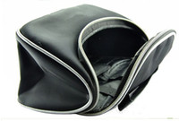 Wholesale Retail Hot Selling Black Cosmetic Bag With Zipper M01
