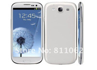 Wholesale 2013 I9300 Smart Phone android OS Inch Capacitive Screen MTK6575 Ghz G GPS WIFI single SIM cell phone f8