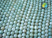 Fashion amazonite round beads - DIY mm Natural Stone Genuine Amazonite Round Bead Beads